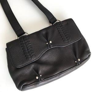 Leonello Borghi Small Black Handbag